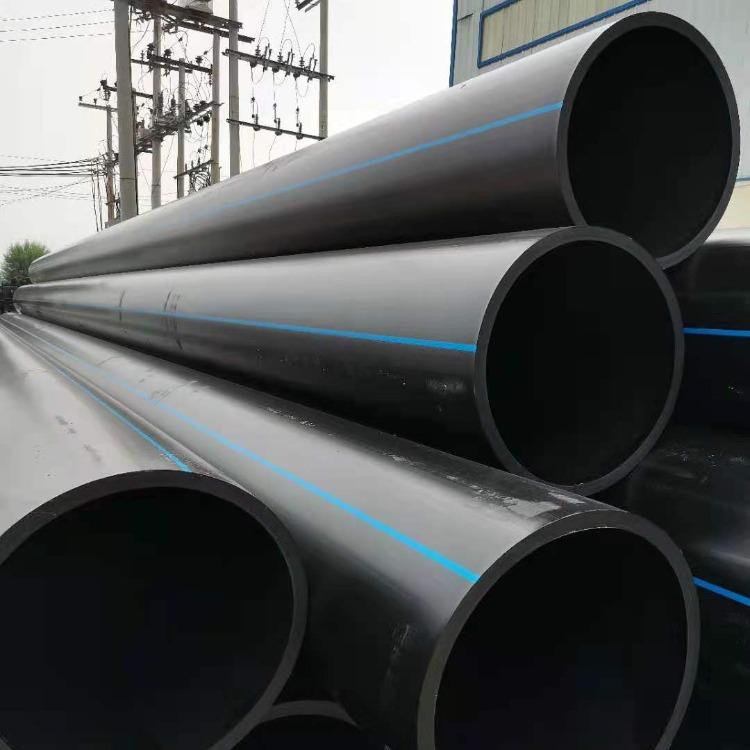 騰達塑膠100級HDPE給水管315口徑 pe灌溉管 pe排水管廠家價格500口徑