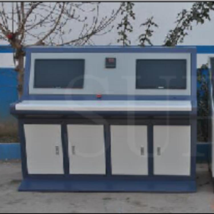 思明特冷凝器水壓耐壓試驗設備 橡膠管件水壓爆破試驗機