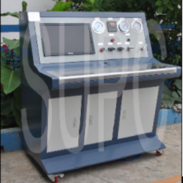 思明特壓縮機水壓強度試驗機-壓縮機爆破壓力試驗臺-空調壓縮機壓力檢測裝置