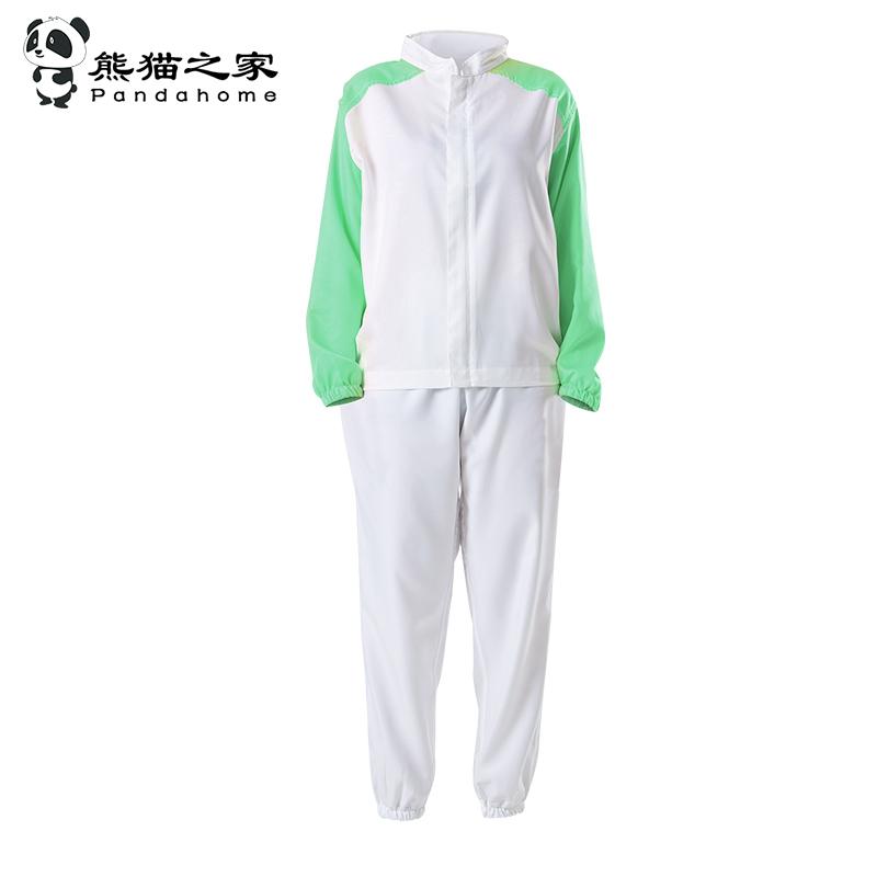熊貓之家食品廠服套裝長袖食品工作服管理員工服