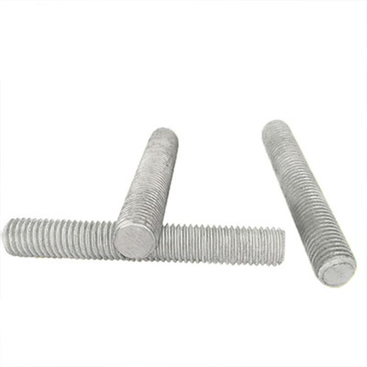M8全扣絲3米熱浸鋅牙條 m12全螺紋吊桿三米螺桿廠家 熱鍍鋅絲杠