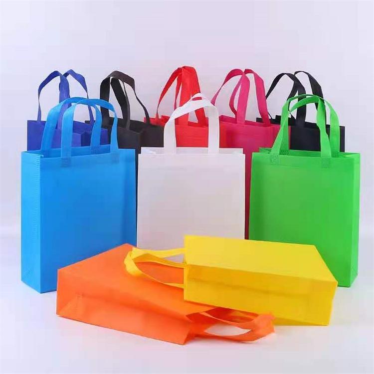无纺布袋 人工缝纫袋 可降解材质 礼品袋