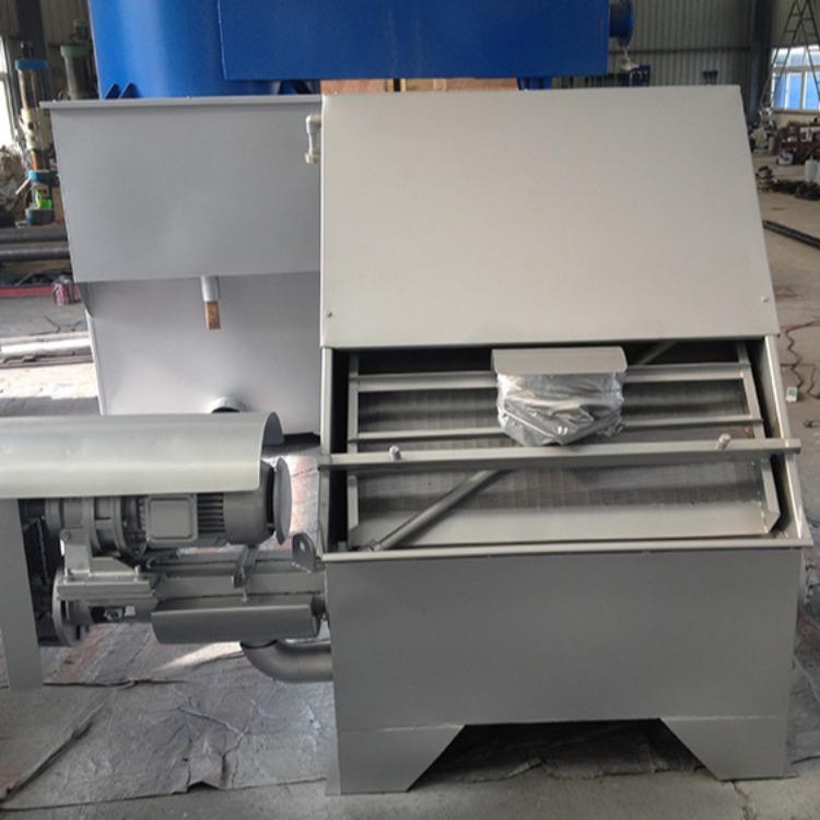 江蘇如克環保廠家銷售不銹鋼材質RKSF-20固液分離機干濕分離機糞便分離機