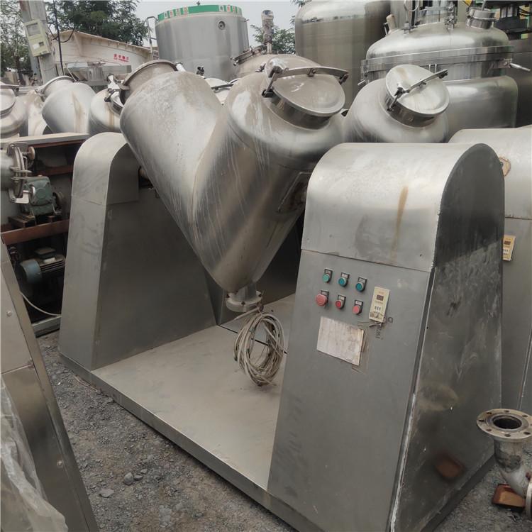 二手V型混合機轉讓 500升1500升200升v型混合機 速達二手設備廠家 供應