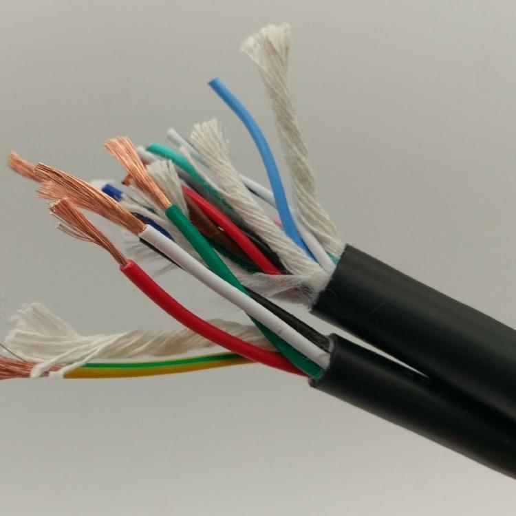 pu電纜螺旋絲電線盤電纜抗拉柔性卷筒電纜 斯拜秀