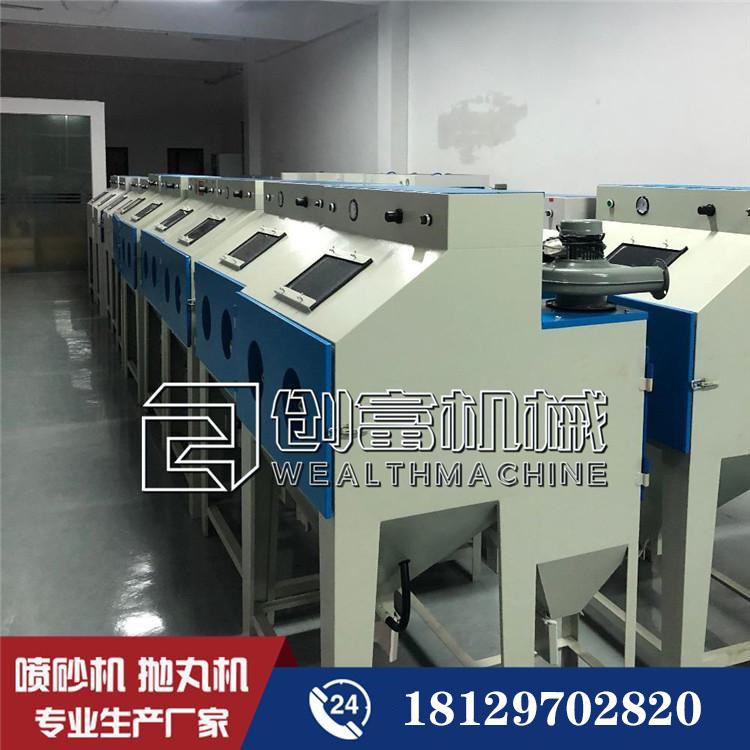 廣東惠州9060噴砂機 創富手動噴砂設備廠價直銷