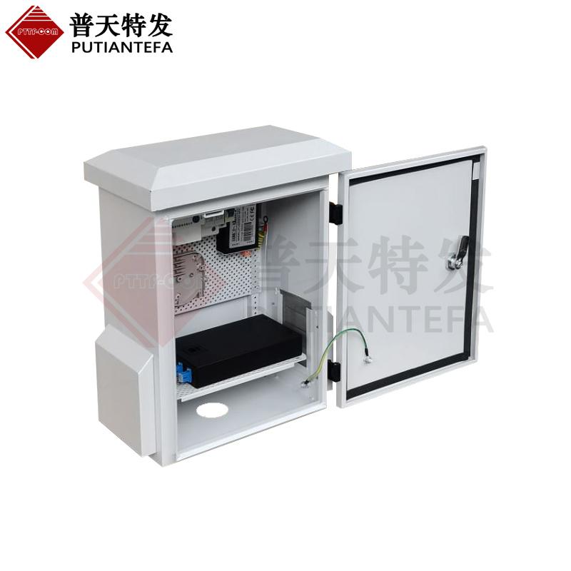 戶外監控設備箱 網絡二合一防雷器 自動重合閘 光纖終端盒