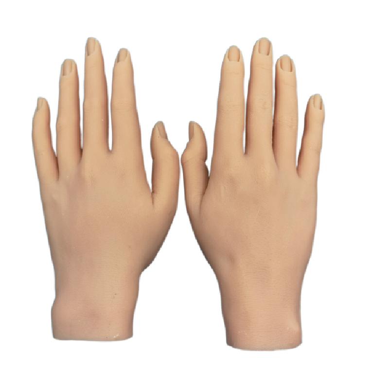 源創美甲手?;顒邮?練習假手 可彎曲假手 手模