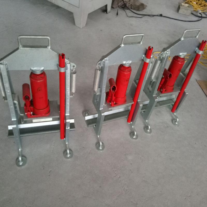 邦捷廠家液壓式接續管壓接管正彎機YJZ2壓接管校直機導線壓接管校直機