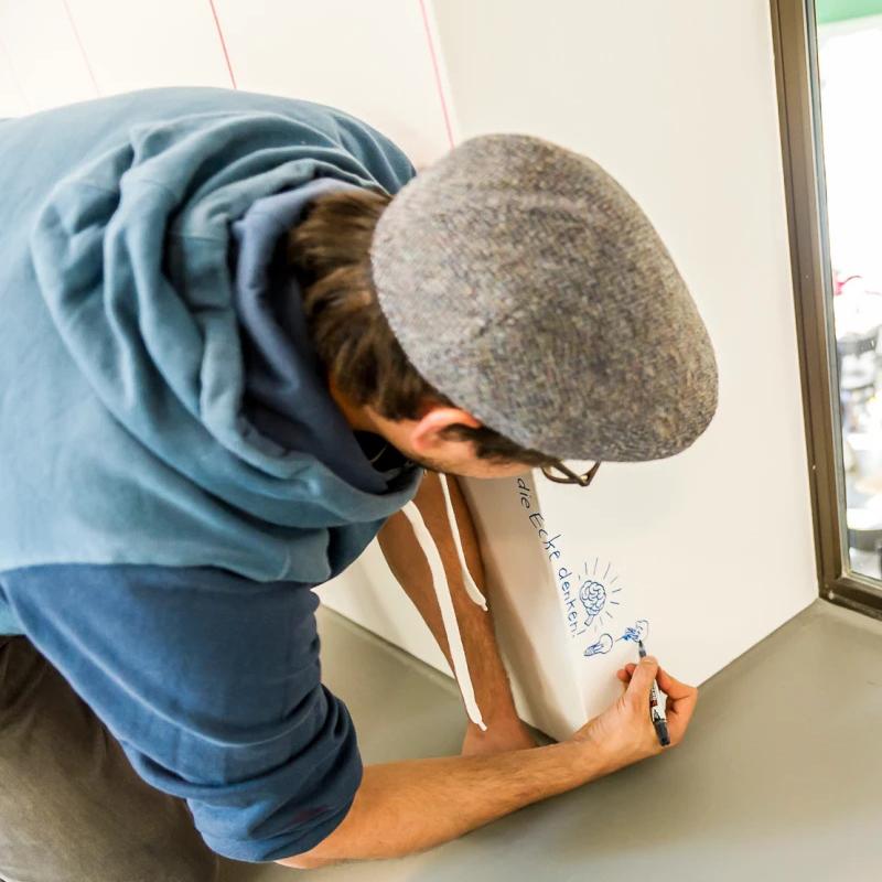水性黑板漆磁性漆家用自刷墙面翻新教室乳胶漆儿童房黑板墙漆涂料