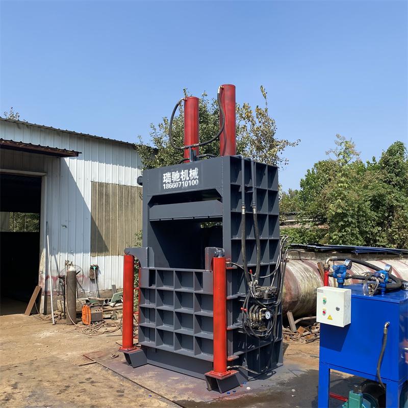 大型立式  雪安鋁合金擠壓打包機  全鋼板焊接立式液壓打包機  廠家出售