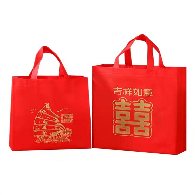 無紡布手提袋 宏巨包裝 展會禮品袋 石家莊廠家