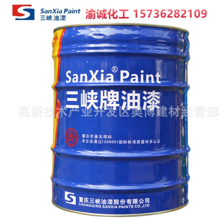 重慶四川貴州三峽C04-42三峽牌白醇酸磁漆 19kg
