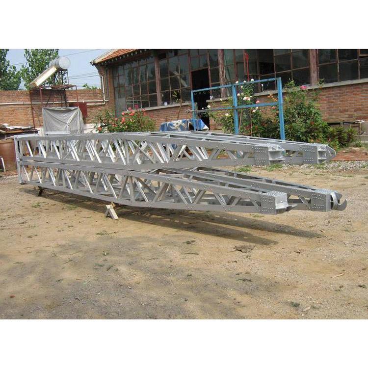 明捷鋁合金格構式抱桿金屬抱桿內懸浮獨角抱桿組塔工具