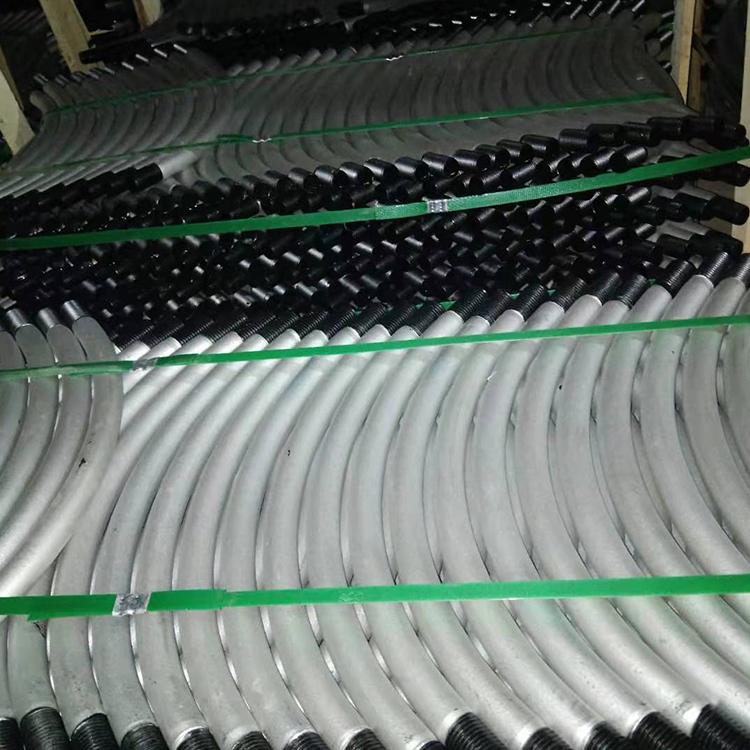 管片螺栓工廠 45鋼熱鍍鋅地鐵管片連接螺栓 8.8級抗堿地鐵螺栓