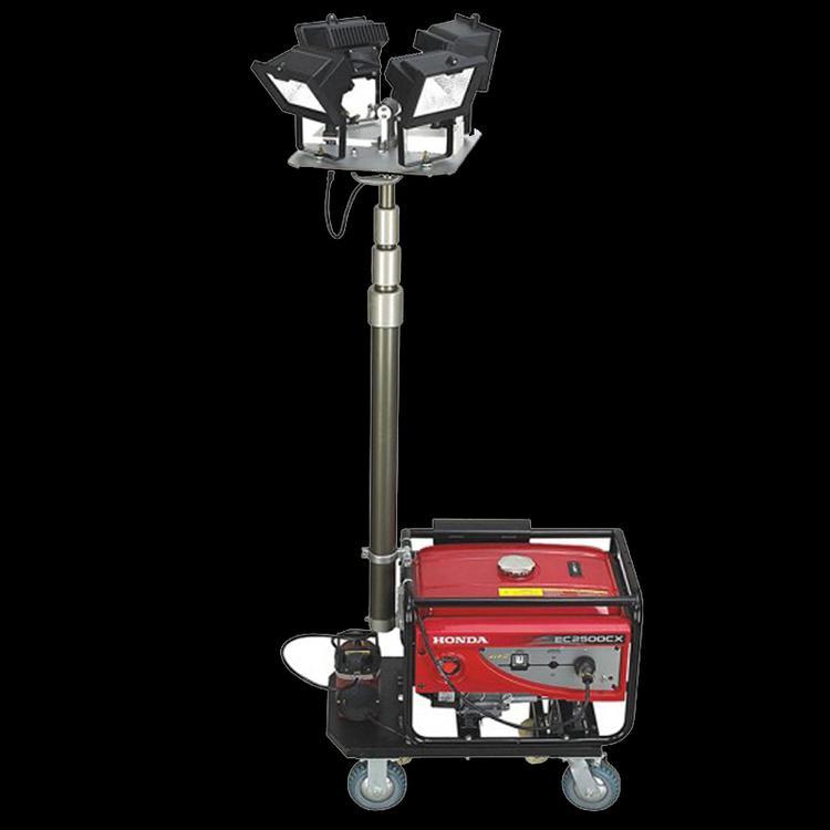 邦捷防汛搶險移動照明工作塔應急救援照明車泛光工作燈多用途燈