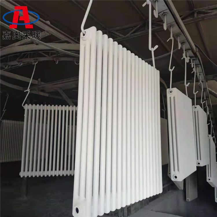 嘉奧 雙層防腐鋼三柱散熱器qfgz30132 鋼三柱散熱器廠家加工