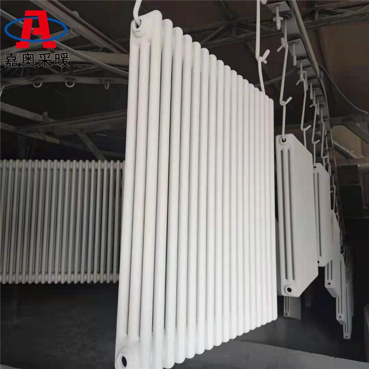嘉奧 廠房用鋼三柱散熱器305 鋼三柱散熱器供熱面積