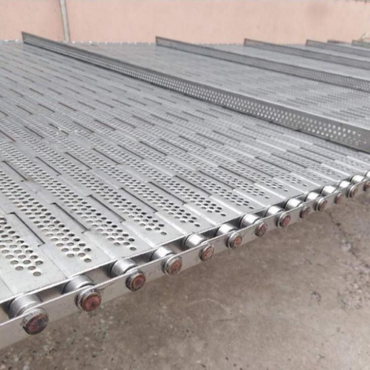 工業傳動重型鏈板 耐高溫排屑機輸送鏈版熱處理大節距輸送鏈板