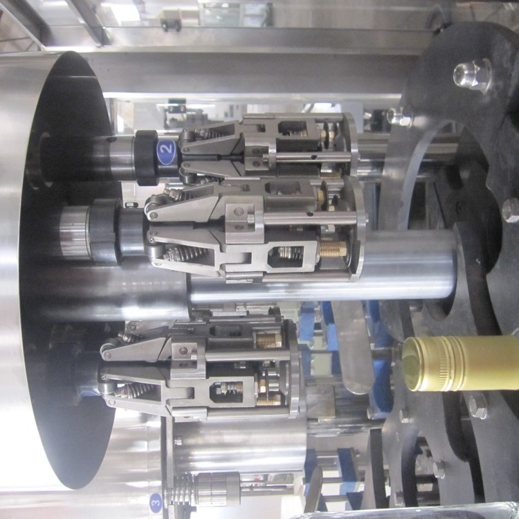 南承全自動液體灌裝機廠家 4頭6頭紅葡萄酒設備白酒灌裝機白酒罐裝生產線全自動
