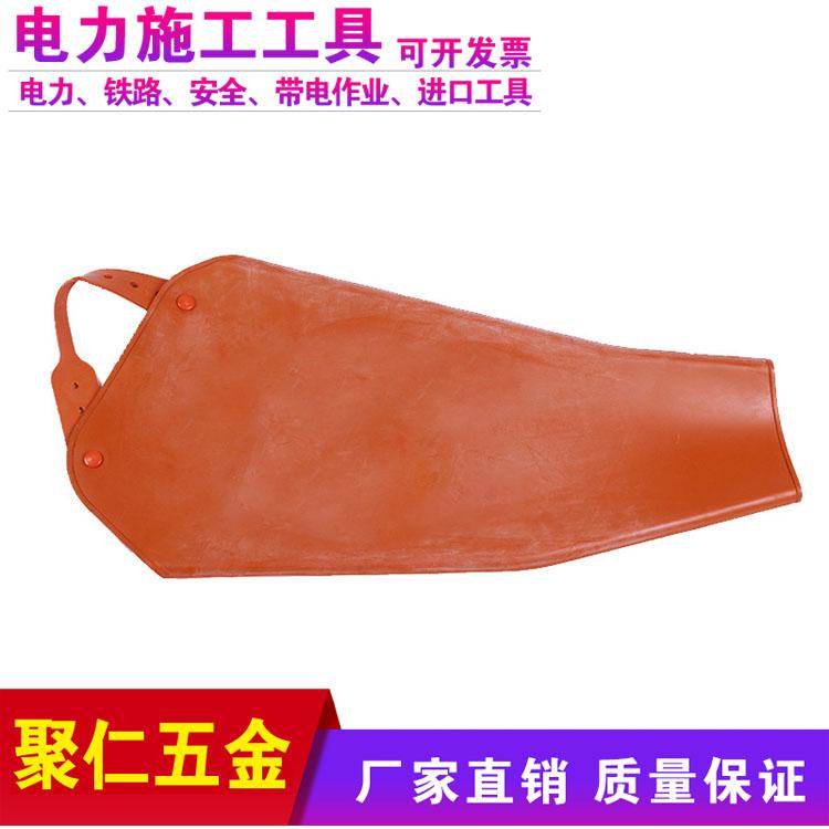 聚仁20KV帶電作業用袖套絕緣袖套絕緣防護袖套2級牛皮套袖電力絕緣套袖