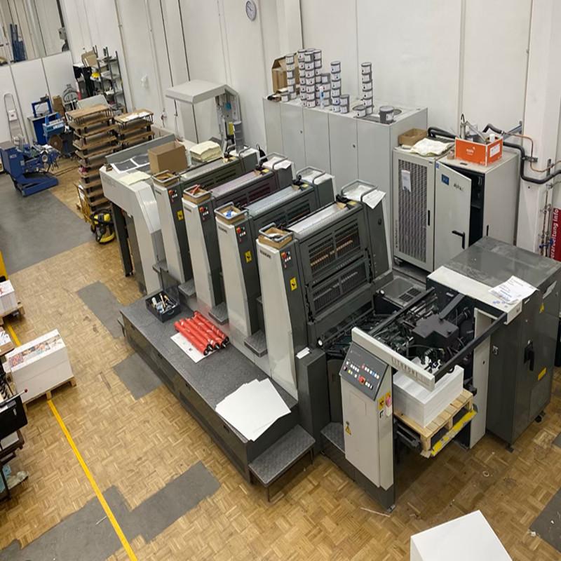 廠家直銷印刷機 德國海德堡高速高精度印刷機 水墨絲網平網印刷機