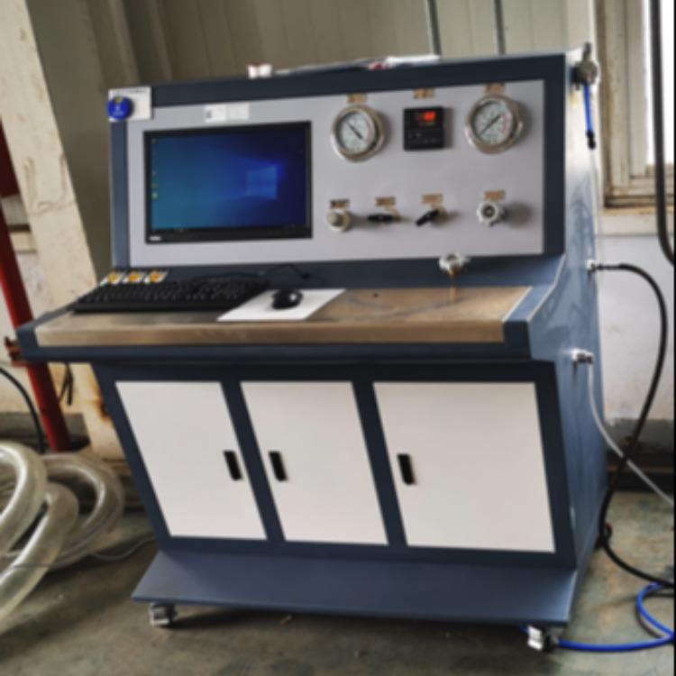 思明特管材自動控制水壓試驗設備-閥門升降壓自動控制水壓試驗機